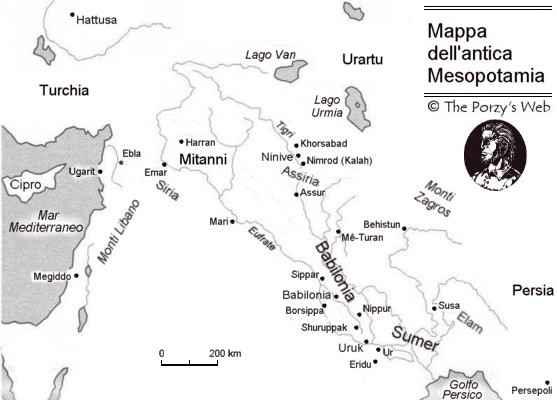 Introduzione all 39 epopea di gilgamesh for Cartina della grecia antica da stampare